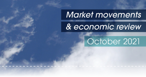 Market movements & review video - October 2021